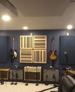 Melissa Warneck GIK Acoustics ceiling clouds bass traps studio