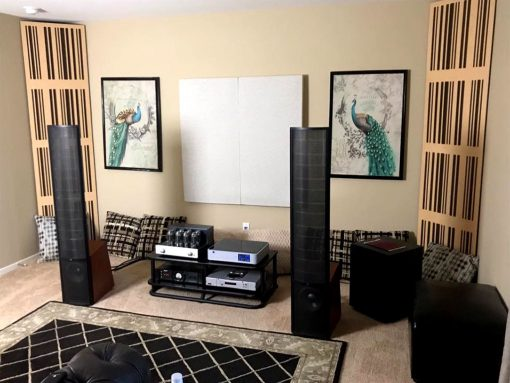 Richard Herrera GIK Acoustics 1D alpha panels
