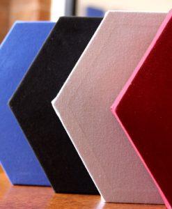 GIK Acoustics Hexagon Decorative Acoustic Panels in many colors