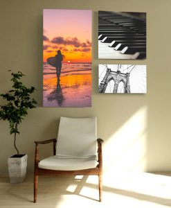 Acoustic Art Panels with multiple sizes and custom artwork