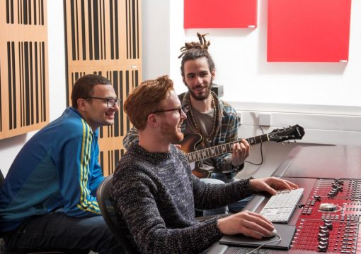 Abbey Road Institute teaching space using GIK Acoustics