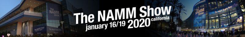NAMM 2020 banner