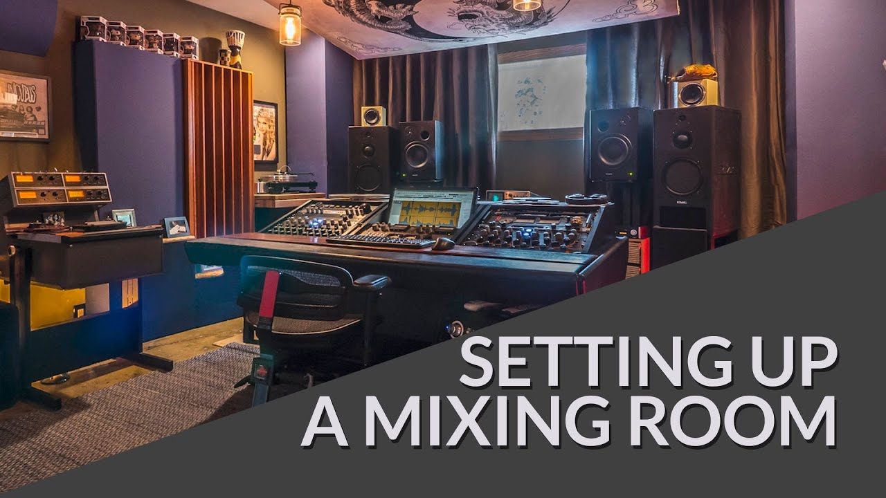 Mixing Mastering Room Setup Tutorial