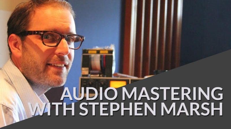 Room Acoustics Matter in Audio Mastering interview with Stephen Marsh