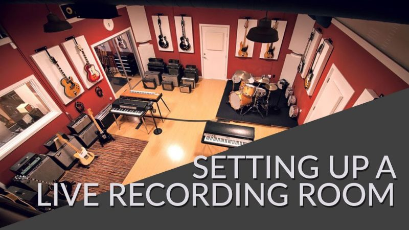 Acoustically Treating a Live Room for Recording Tutorial