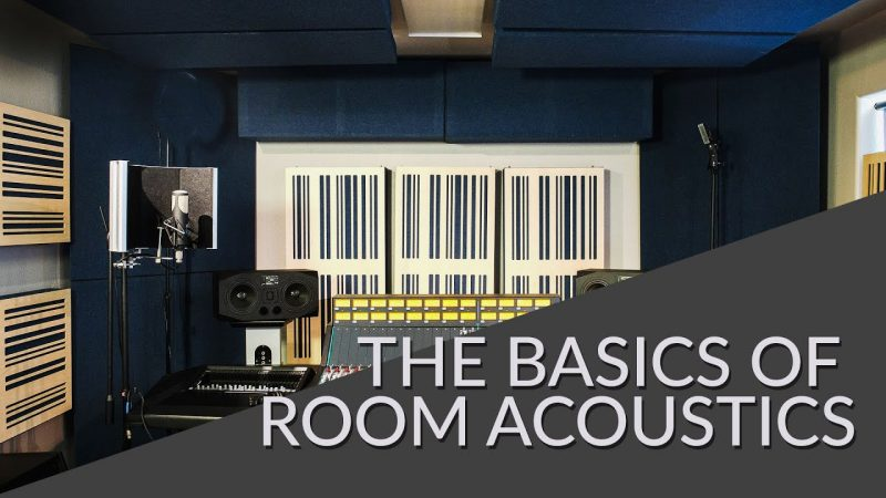 basics of room acoustics video